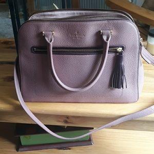 Kate spade triple compartment satchel